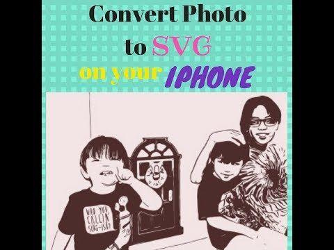 How To Convert Photo To Svg On Your Iphone Or Ipad Imaengine Cricut Design Space 2018 Youtube Cricut Apps Cricut Cricut Tutorials