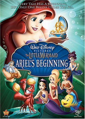 The Little Mermaid - Ariel's Beginning: Disney Movies, Mermaid Ariel S, Little Mermaids, Kids Movies, Disney Princess, Movie Night, Disney Dvd, Iii Ariel S
