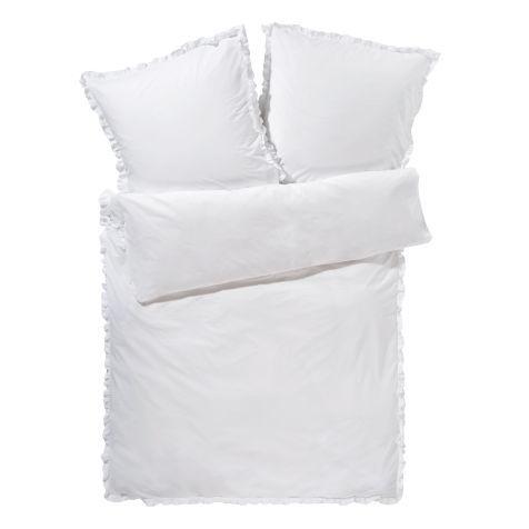 Bettwäsche Rüschen, Baumwolle Vorderansicht