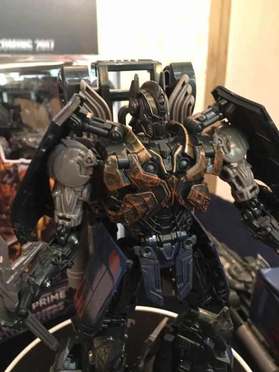 Transformers: The Last Knight Premier Series Shadow Spark Optimus Prime & Masterpiece Bumblebee Revealed!