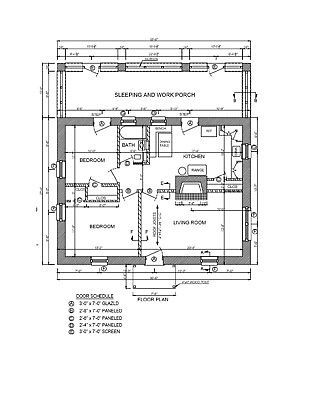 Picture 4 Of 5 Adobe House Building Plans House House Plans
