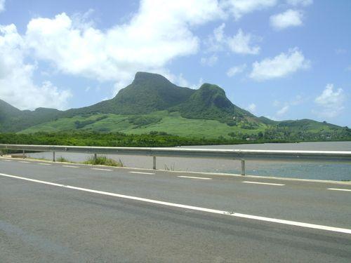 Lion Mountain in Mauritius