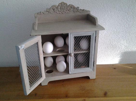 Pantry Keuken Te Koop : Eierkastje voor in de keuken Woonkamer decoratie Pinterest