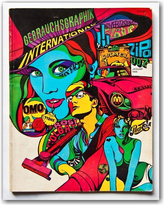 Click to enlarge colourfully via: Retro Graphic Design *** Sensibles Thema…