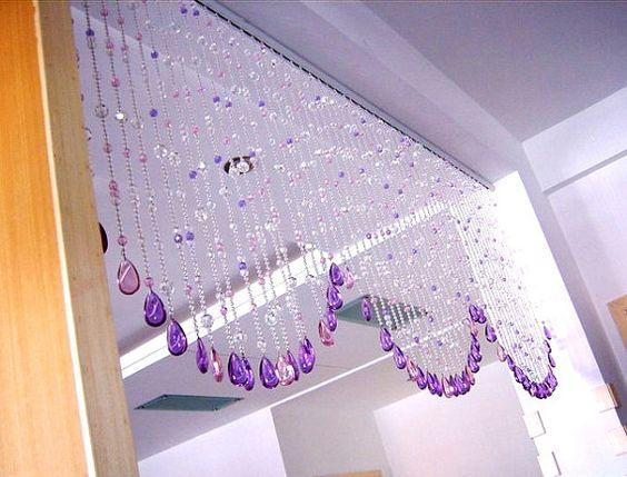 Crystal beaded curtain glass beads curtain home decoration wedding decoration wedding - Glass beaded door curtains ...