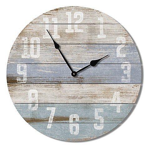 Beautiful Coastal Wall Clocks My Cozy Colorado Wall Clock