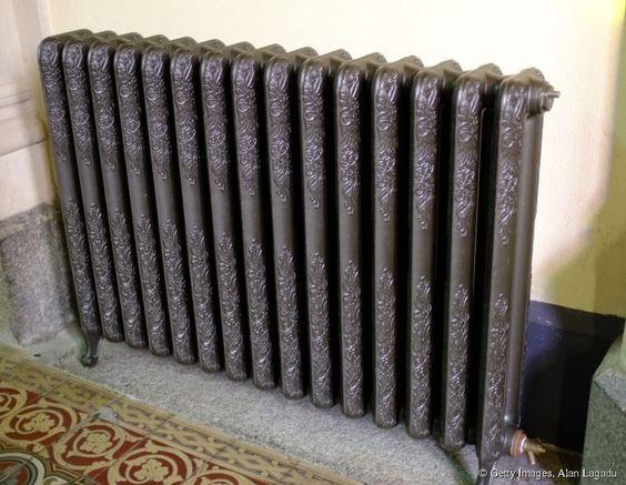 Comment repeindre un radiateur en fonte ?