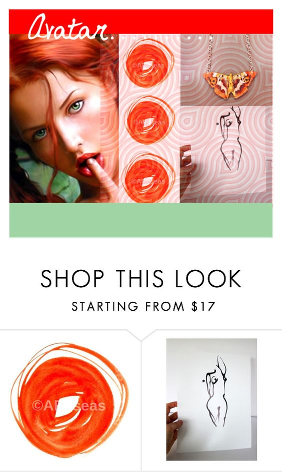 """""""Avatar...."""" by sgnprogram ❤ liked on Polyvore"""