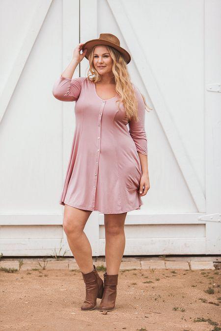 Blush Sophie Skater Dress ★