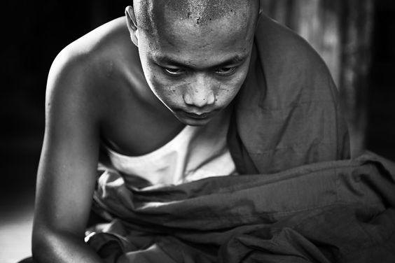 Novice from Myanmar