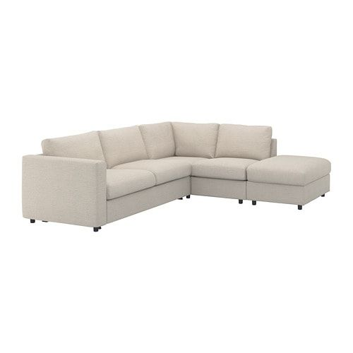 Vimle With Open End Gunnared Beige Corner Sofa Bed 4 Seat Ikea Corner Sofa Bed Sofa Bed Frame Ikea Sofa Bed