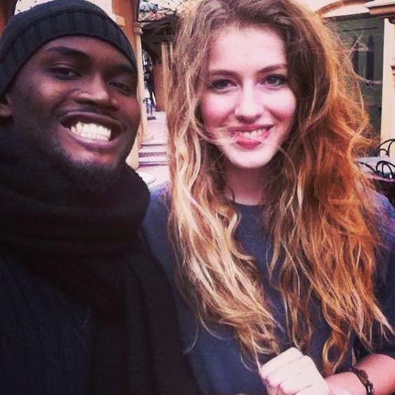 Avec le plus gentil ❤️ #Alvy #PARIS #TeamJen