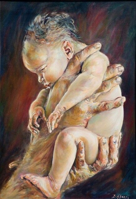 Mother's Day Tribute to all Mamas,11 Amazing warmest Mom & Child paintings – Make Happy Foundation