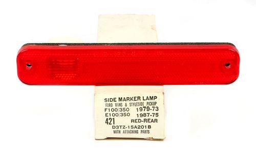 Rear Side Marker Park Lamp Fits 73 91 Ford Bronco E100 E150 Pickup