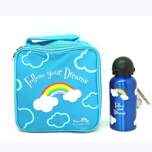 Buy Follow Your Dreams Lunch Box And Drink Bottle Set Online Australia | No i Deer Gifts