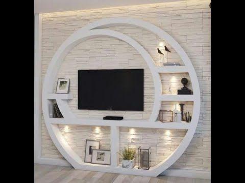 116 احدث ديكور شاشات بلازما جبس بورد Youtube Tv Room Design Ceiling Design Living Room Living Room Tv Unit Designs