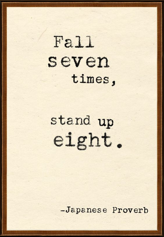 Keep standing up.