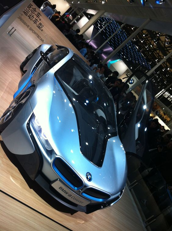 BMW - Concept Car - Shanghai Motor Show - 2013