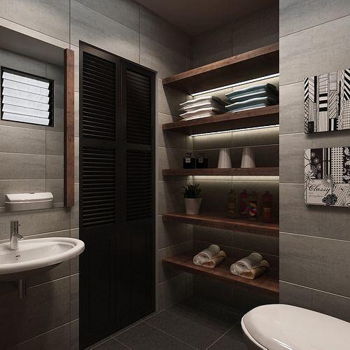 Bathroom Designs Singapore hdb 4-room $30k @ buangkok green - interior design singapore