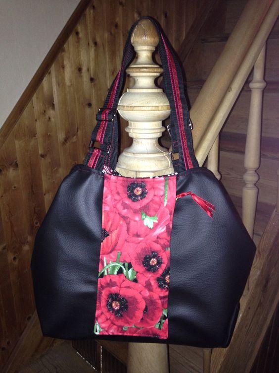 Tasche ayla von Machwerk mit geänderter Vordertasche