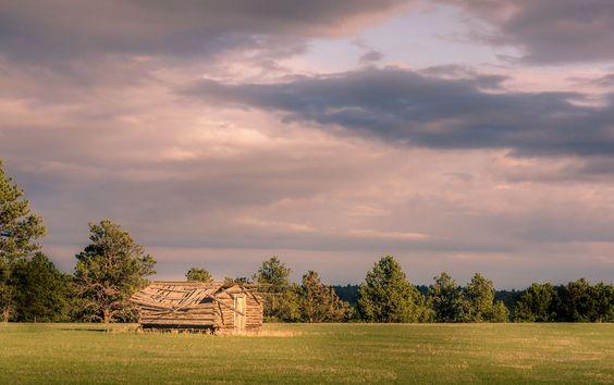 https://flic.kr/p/GwHctf | 20160424-Gathering clouds. | #dakota #POTD #Day1577 #BlackHills #cabin #SouthDakota #Rockerville