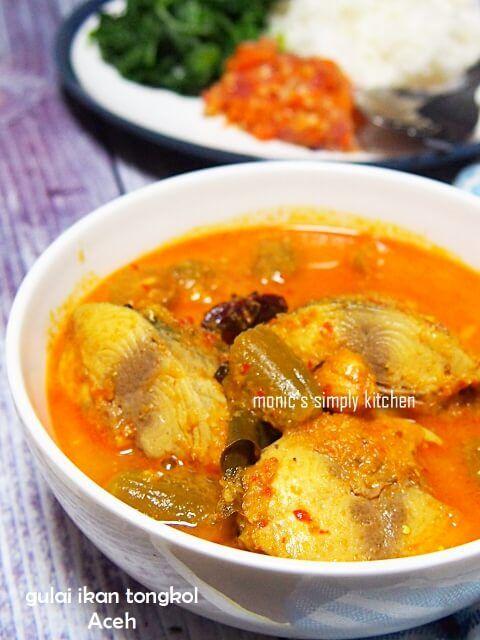 Gulai Ikan Tongkol Resep Makan Malam Makanan Dan Minuman Resep Masakan
