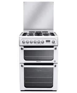 Buy Hotpoint HUD61P Double Dual Fuel Cooker at Argos.co.uk, visit Argos.co.uk to shop online for Freestanding cookers