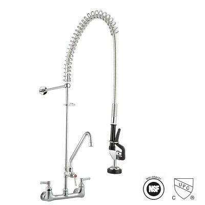 Ad Ebay Url Commercial Pre Rinse Sink Faucet Kitchen 12 Add On Mixer Tap Pull Down Spra In 2020 Kitchen Faucet With Sprayer Kitchen Sink Faucets Commercial Faucets