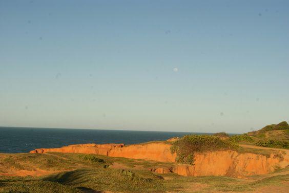 Falésias de Morro Branco Ceará Brasil