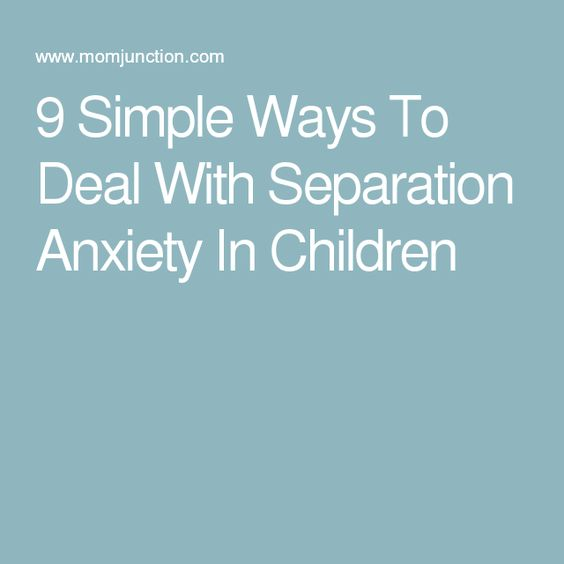 separation anxiety research articles Separation anxiety disorder (or simply separation anxiety) is a psychological condition in which an individual has excessive anxiety regarding separation from home or from people to whom the .