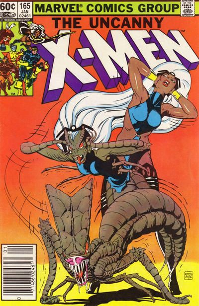 Cover for The Uncanny X-Men (Marvel, 1981 series) #165 [Direct]