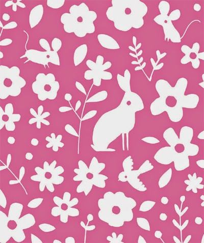 Lizzie Mackay for Blend Fabric. Lovely naive drawing style. Keeping it simple and cute...