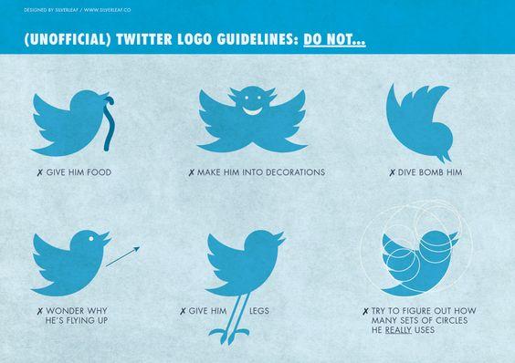 logo twitter girafe
