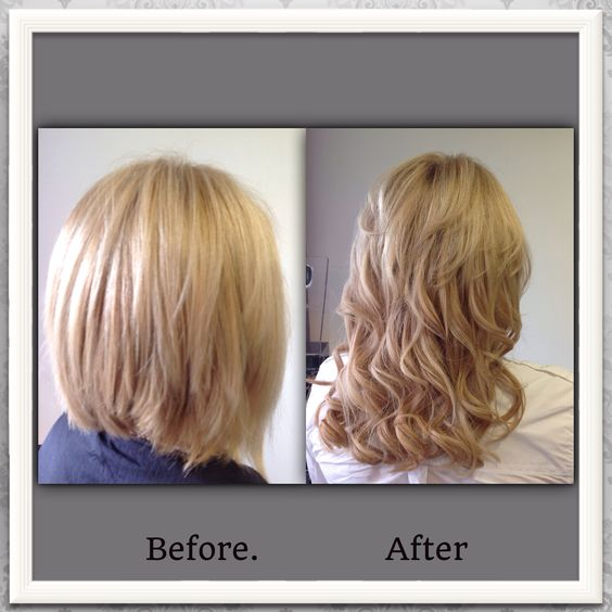Great lengths in salon transformation
