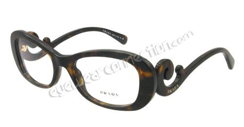 PRADA EYEGLASSES, model VPR 09P, Color code: 2AU-1O1  Need help deciding!