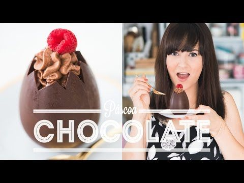 OVO MOUSSE DE COLHER CHOCOLATE E FRAMBOESA | PÁSCOA | DANI NOCE - YouTube