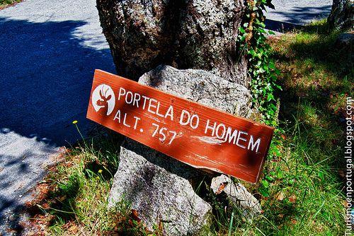 Turismo en Portugal: En el Rio Homem, Parque Nacional da Peneda Geres