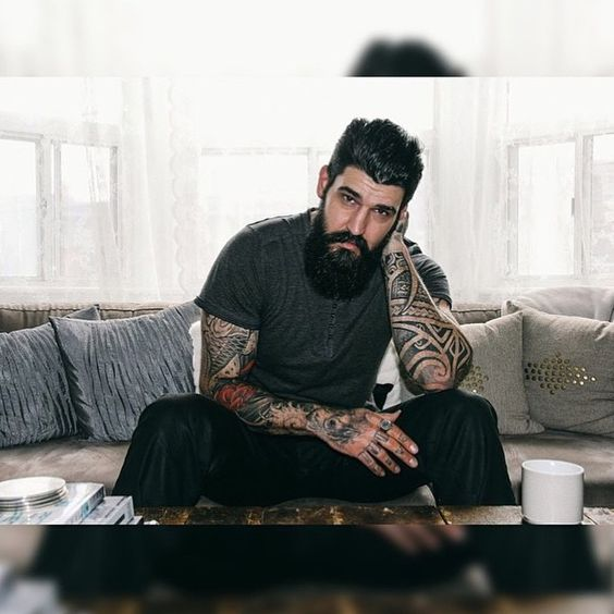 Starting the day with this awesome bearded man. Starting off the morning with a badass shot. This is @melojerry #beard#beards#bearded#beardlife#beardlove#beardlover#beardporn#beardo#beardedmen#beardenvy#envybeards#beardsandtatts#beardsandtattoos#tattoo#tattoos#tattooed#ink#inked#cityofbeards#photography