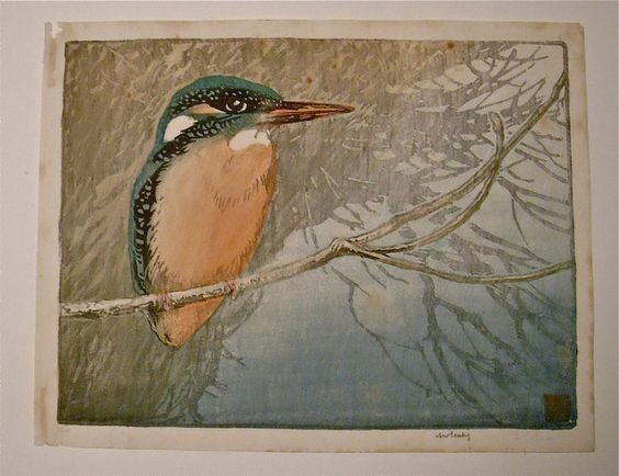Color Woodblock Print / Allen W. Seaby: