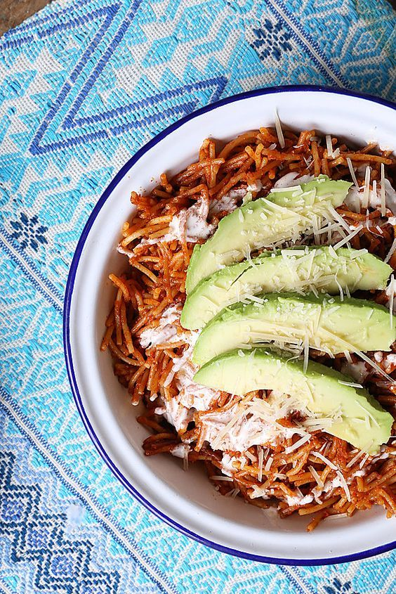 Fideo Seco Mexican Food Recipes Food Network Recipes Food