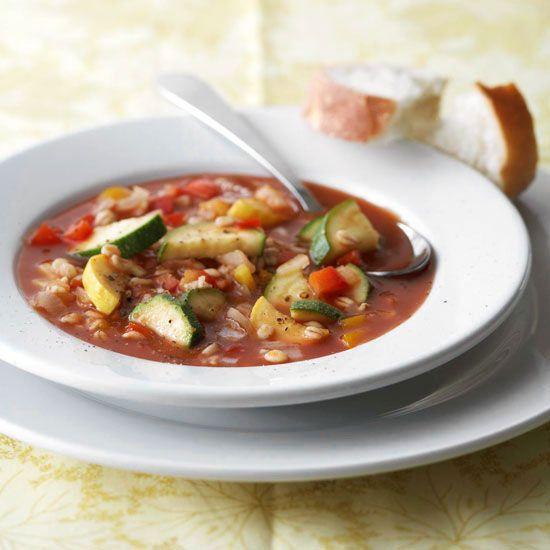 Barley-Vegetable Soup