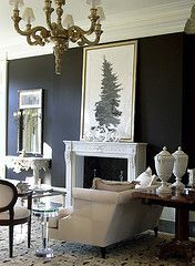 Tried and True Color Combinations: Black and white is a classic and surprisingly traditional color combination.