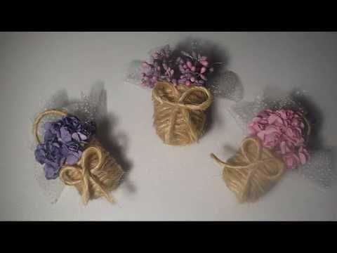 مشــروع مــربح زيـــنه لثلاجه من علب البلاستيك الصغيرة Diy Youtube Floral Rings Floral Flowers