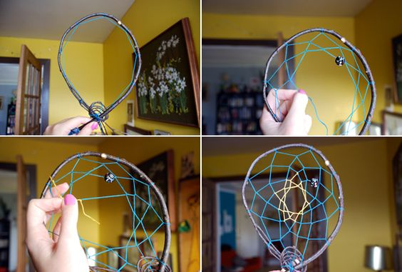 DIY DreamCatcher - great instructions and visuals  http://www.modishblog.com/modish/2011/03/diy-dreamcatcher-.html?utm_source=feedburner&utm_medium=feed&utm_campaign=Feed:+Modish+(Modish)