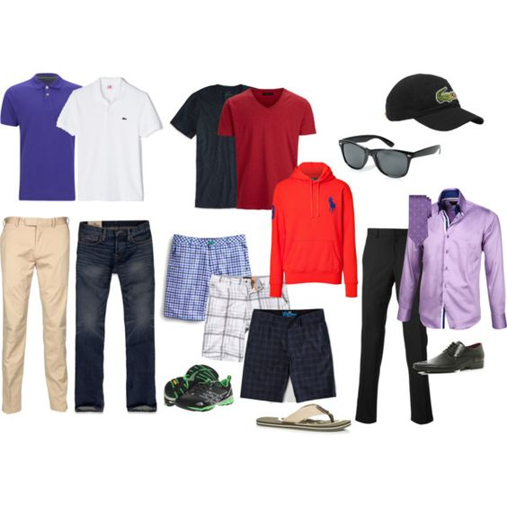 QuotMen Vacation Capsule Wardrobequot  Vacation Packing  Pinterest  Wa