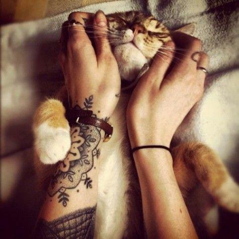 : Wrist Tattoo, Kitty Cat, Tattoo Placement, Cat Love, Cat Tattoo, Tattoo Cat, Tattoo Design, Mandala Tattoo
