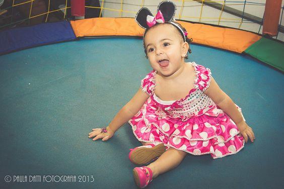 Laís, 2 anos. Festa da Minnie Mouse pink.