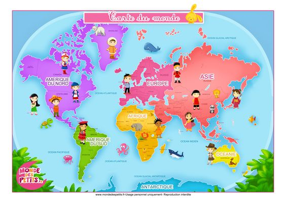 cartes Compréhension écrite : l'école 5 continents - Elémentaire - Compréhension