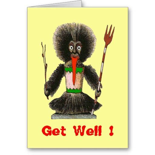VooDoo Doll Too, Get Well ! Cards