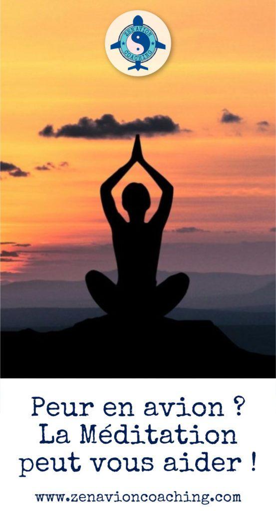 Peur En Avion La Meditation Peut Vous Aider Meditation Peur Gestion Du Stress